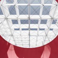 Taipei Fine Arts Museum pavilion byShen Ting Tseng Architects