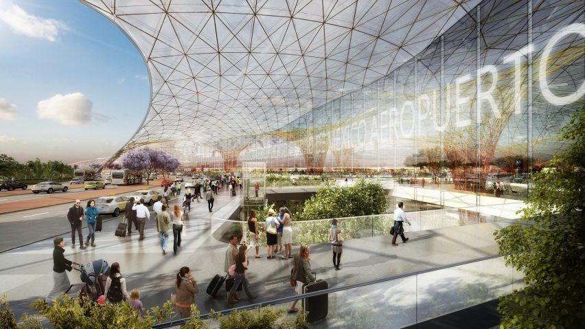 Foster + Partners' Mexico City airport