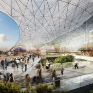 "Mexico City architects protest ""fake, unlawful"" referendum on Foster-designed airport"