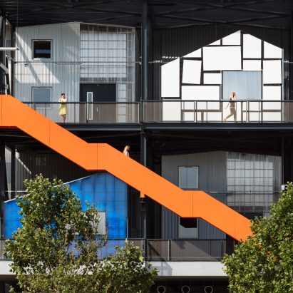 The Gantry at Here East by Hawkins\Brown