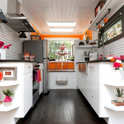 The Home That Runs On Dunkinu0027 Is A Cabin Powered By Waste Coffee