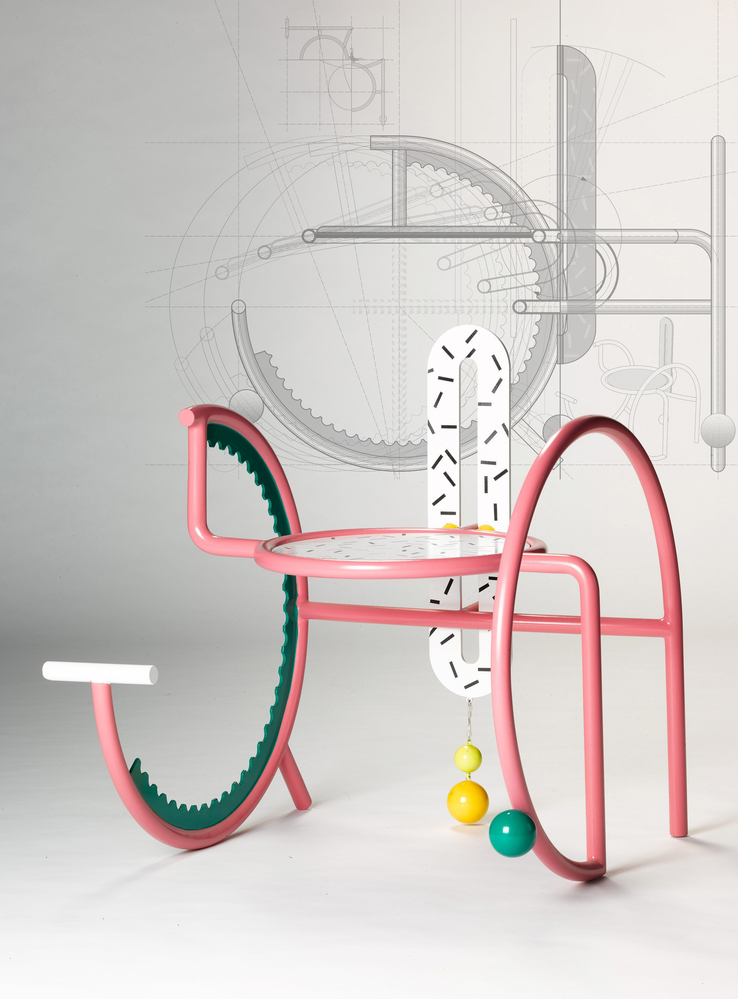 Hu Yuming creates chairs designed to satisfy the restless seated body