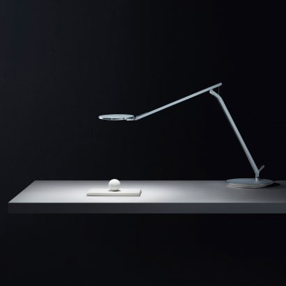 Humanscale's Infinity lamp designed to combat eyestrain from bright computer lights