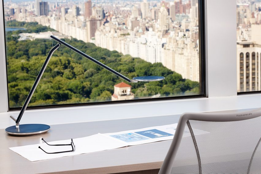 Humanscale S Infinity Lamp Designed To, Infinity Table Lamp