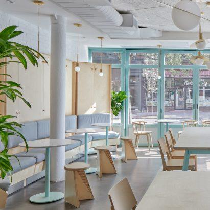 restaurant interiors and architecture dezeen