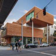 Behnisch Architekten overhauls business school at Portland State University