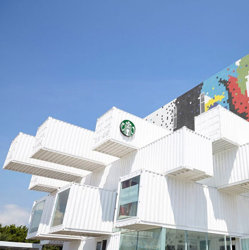 Starbucks Drive Thru by Kengo Kuma