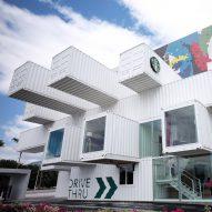 Latest Dezeen Weekly features a Kengo Kuma-designed Starbucks in Taiwan