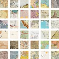 "Kerim Bayer deconstructs 1,366 maps to create ""atlas of atlases"""