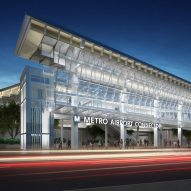 Grimshaw's Airport Metro Connector will link LAX directly to public transport