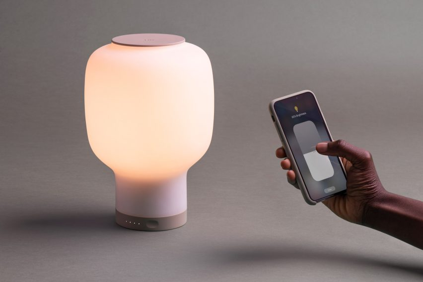 Layer's wireless lamp doubles up as a charger and sunrise alarm clock