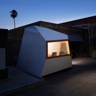 "Knowhow Shop's faceted white studio in LA is ""built like a piece of furniture"""
