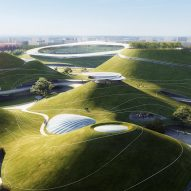 "MAD breaks ground on ""extraterrestrial"" sports campus in China"