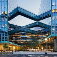 Sky bridges criss-cross SHoP's Midtown Center in Washington DC