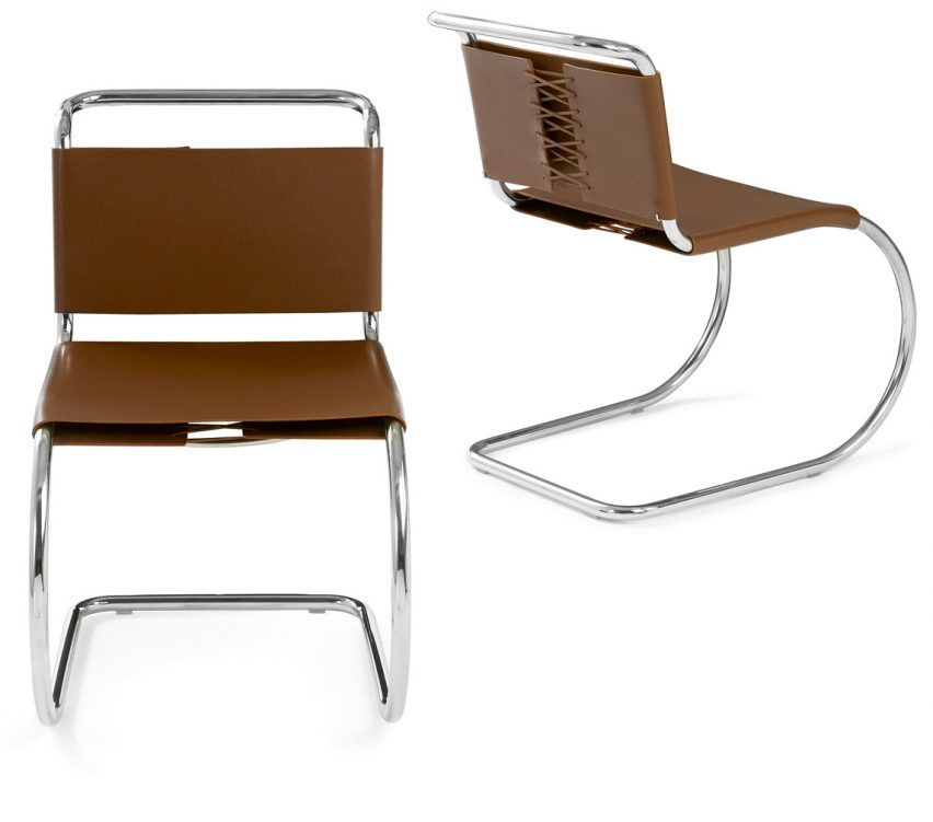 Mies van der Rohe's MR Side Chair
