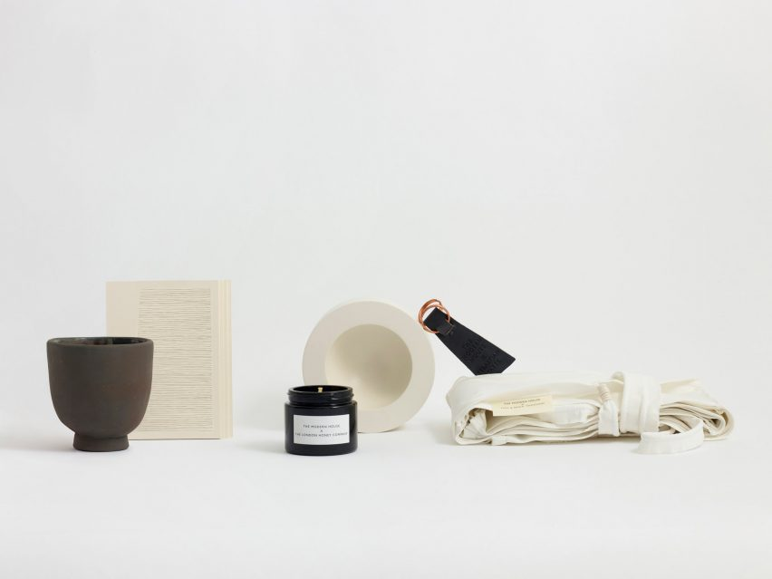 Faye Toogood designs moving-in box for modern homebuyers