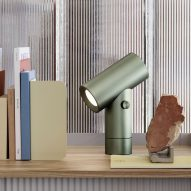 Tom Chung's double-ended Beam lamp for Muuto references car headlights