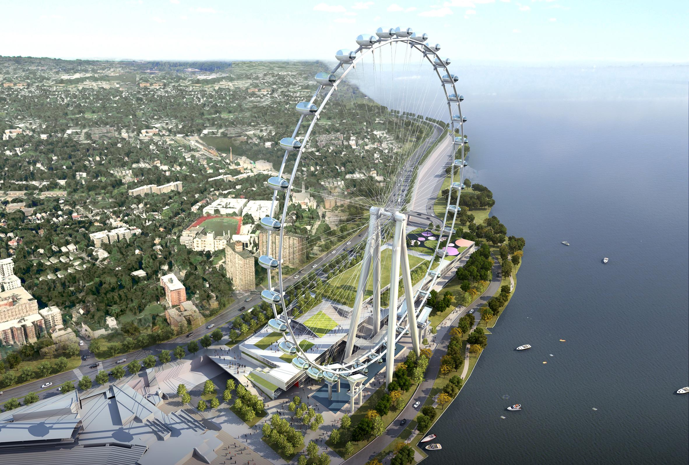 New York Wheel developers abandon plans for Staten Island attraction