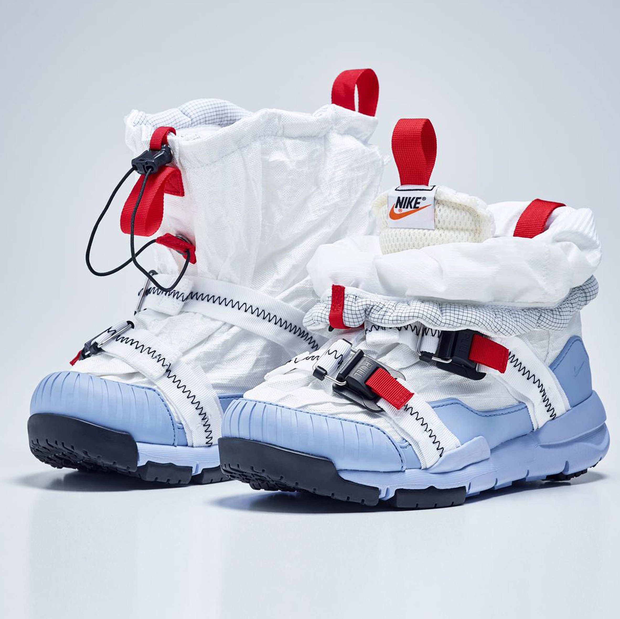 9891430b7a54ef Tom Sachs updates Nike Mars Yard trainer to resemble shoes worn by ...