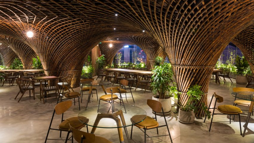 Nocenco cafe by Vo Trong Nghia Architects