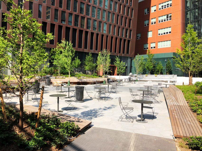 American Copper Building Plaza by SCAPE Studio