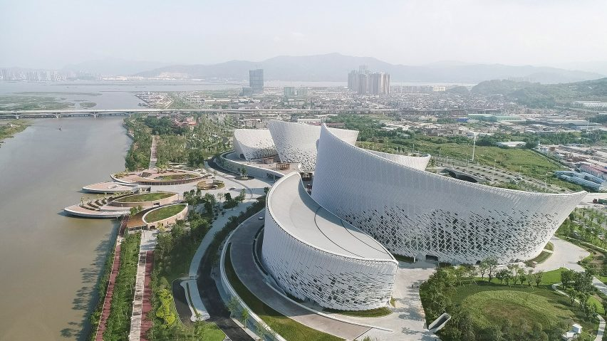 Strait Culture and Art Centre in Fuzhou by PES Architects