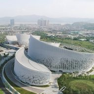 PES Architects reveals petal-shaped Strait Culture and Art Centre in Fuzhou