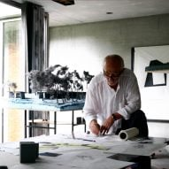 """I can only do so much"" to protect the environment, says Peter Zumthor"