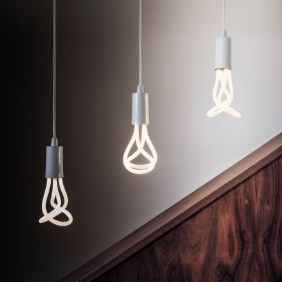 Led design lighting Bed Plumen Creates Led Version Of Design Of The Yearwinning 001 Light Bulb Roberts Step Light Lightbulb Installations And Design Dezeen