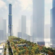 Rogers Stirk Harbour + Partners plans 1,200-metre-long raised garden in Shenzhen