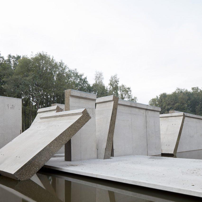 RAAAFand Atelier de Lyon slice open huge wave machine to create Deltawerk monument