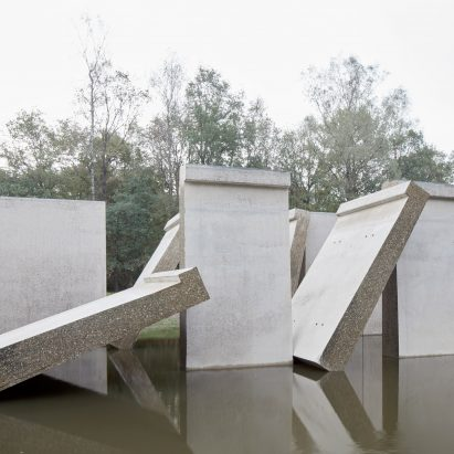 RAAAF and Atelier de Lyon slice open huge wave machine to create Deltawerk monument