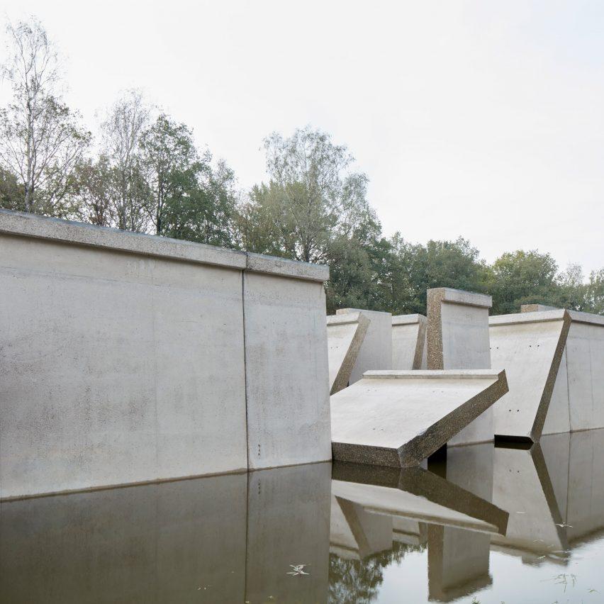 Dezeen's top 10 installations of 2018: Deltawerk, Netherlands, by RAAAF and Atelier de Lyon
