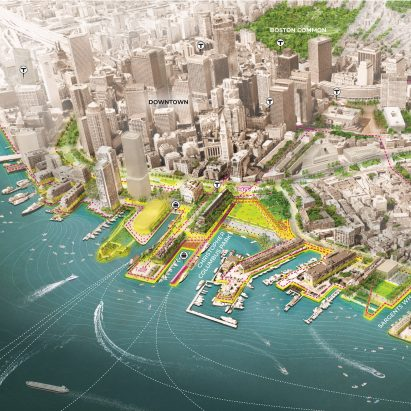 Resilient Boston Harbor by SCAPE