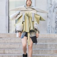 Rick Owens sets the runway on fire at Spring Summer 2019 show