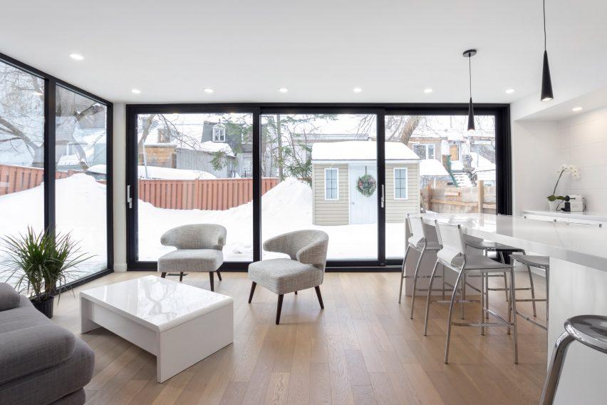 Residence La Salle by Hatem+D + Etienne Bernier Architecte