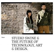 Watch our talk with Studio Swine in Brooklyn