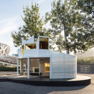 Urban Cabin by MINI Living and Penda takes cues from Beijing's hutong homes