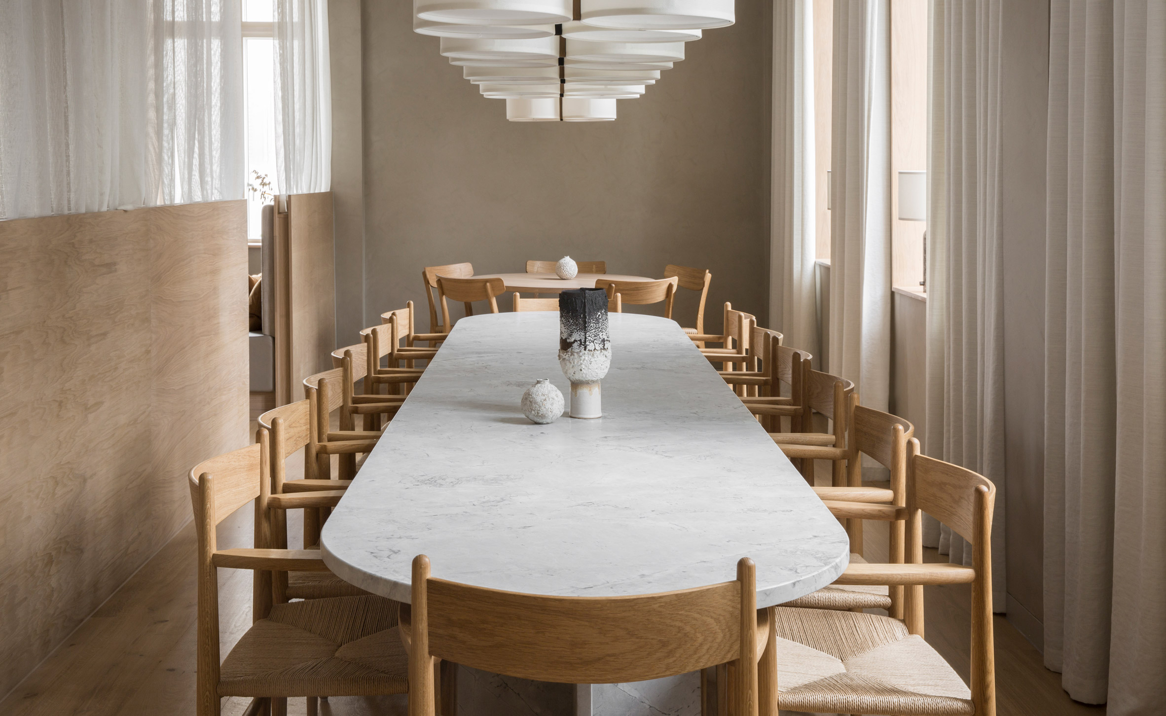Super Norm Architects Merges Danish And Japanese Influences At Gmtry Best Dining Table And Chair Ideas Images Gmtryco