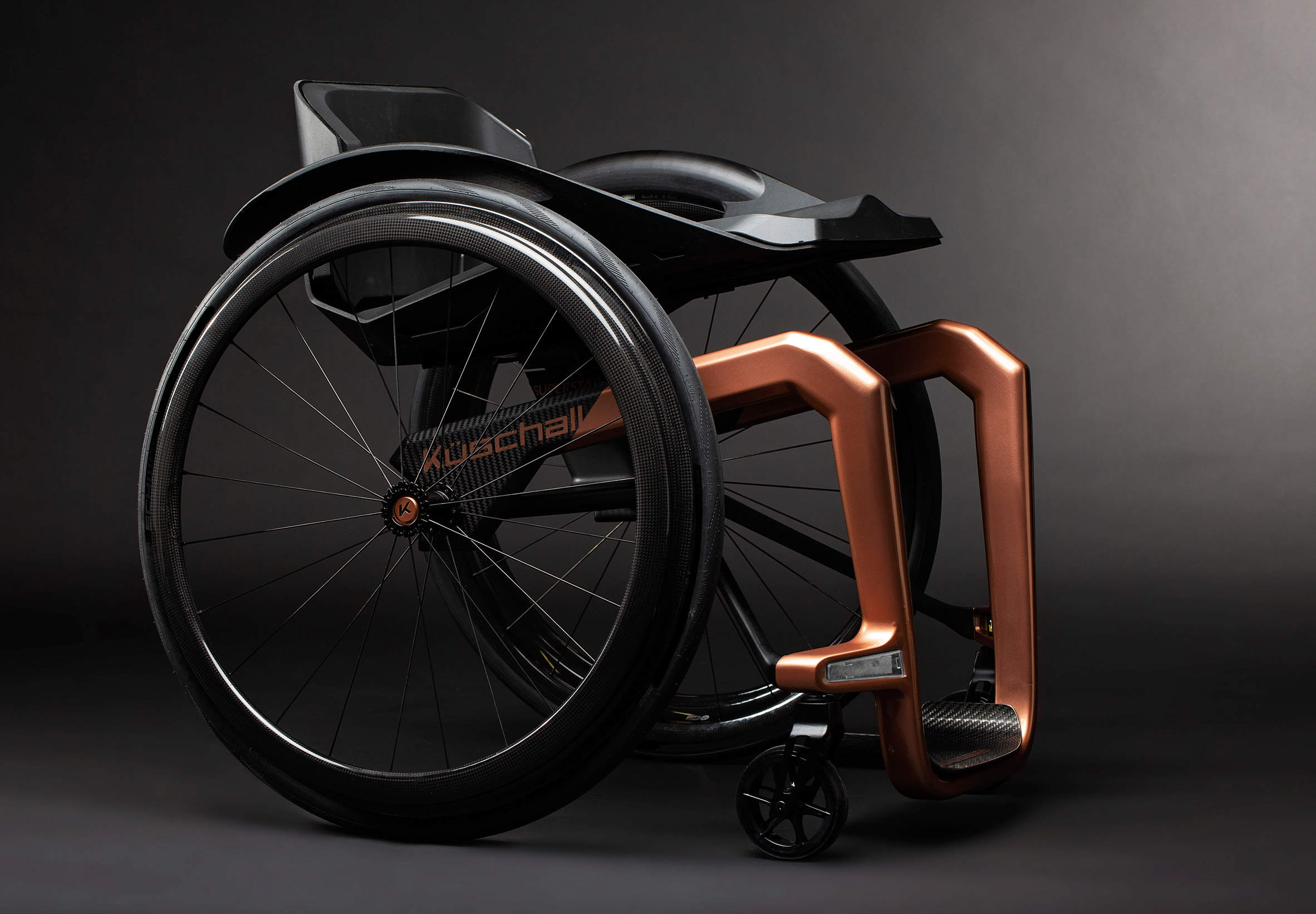 Superstar is a graphene wheelchair that promises strength