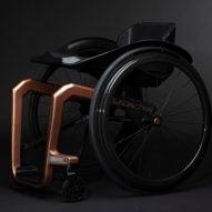 Superstar graphene wheelchair by Küschall