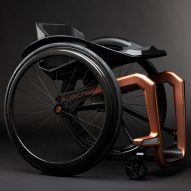 Superstar is a graphene wheelchair that promises strength and lightness