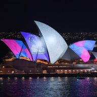 Protests as Sydney Opera House turned into billboard to advertise horse racing