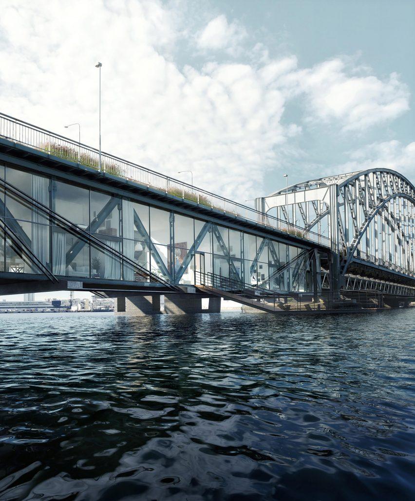 Gamla Lidingöbron bridgebyUrban Nouveau