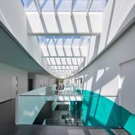 Wulf Architekten brightens German disease research centre with Velux skylights