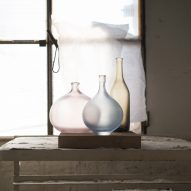 Matteo Thun creates limited edition series of translucent vessels for Venini