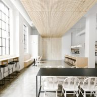 Casework turns Portland industrial building into collaborative workspace
