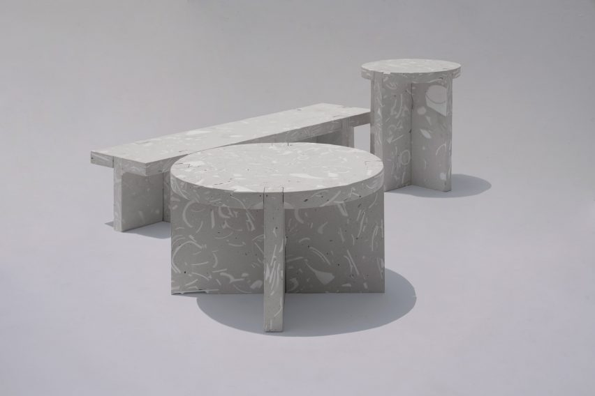 Wreck furniture by Bentu design