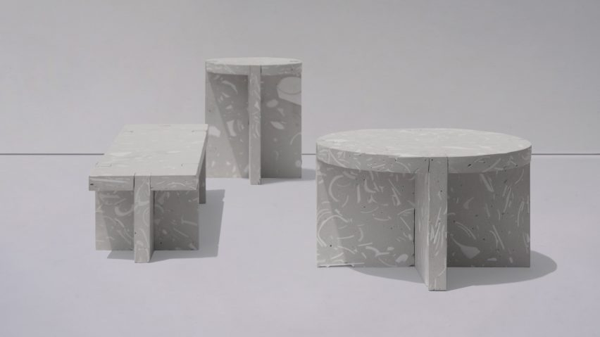 Bentu Design Creates Wreck Furniture From Ceramic Waste