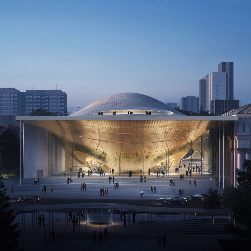 Ural Philharmonic Orchestra by Zaha Hadid Architects